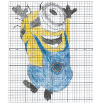 Minion BEE-DO Coordinate Plane Graphing Activity