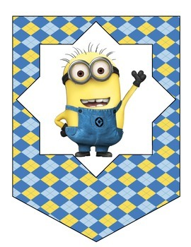Minion Banner - Make Your Own