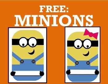 Minion Bulletin Board Template Free By Teaching For Life Tpt