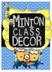 Minion Classroom BUNDLE