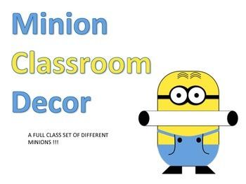 Minion Classroom Decor