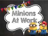 Classroom Jobs (minion theme, noneditable pdf version)