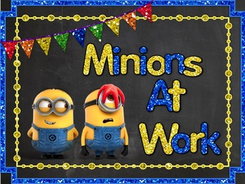 Minion Clip Chart Bundle ( Class Jobs and Where We Are)