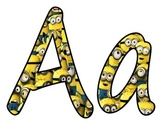 Complete Minions Pack Letters & Numbers