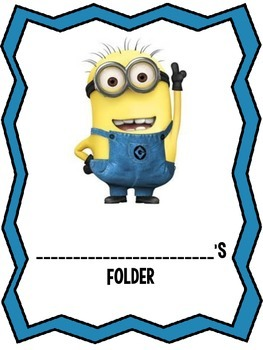 Minion Cover Sheets