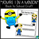 Back to School Minion Craftivity Copy-N-Go