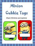 Minion Cubbie Tags