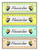 Minion Editable Name Plates