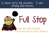 Minion Full Stop Poster