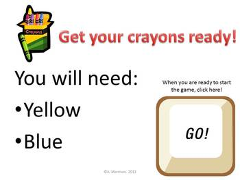 Minion Inspired Large Charts - Watch, Think, Color Game!