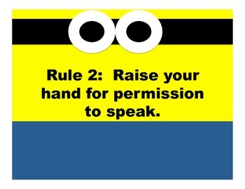 Minion Inspired Whole Brain Teaching Rules