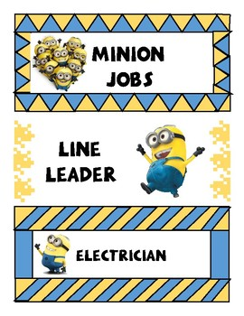 Minion Jobs