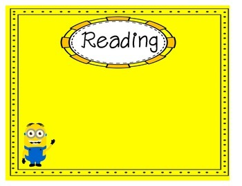 Minion Learning Objectives Posters