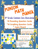 Minion Place Value, Rounding, and Graphing Game