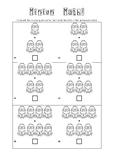 Minion Math - No Prep Printable