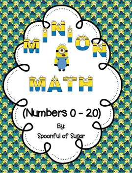 Minion Math (Numbers 0-20: Centers, crowns, number bonds a