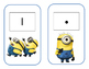 Minion Math cards with # 0-20