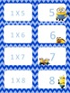 Minion Multiplication facts (0-3)  Concentration & War Card Games
