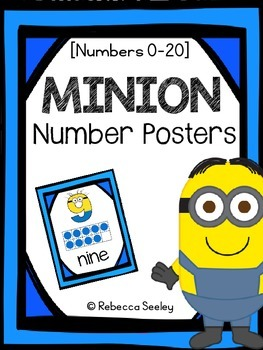 Minion- Number Charts