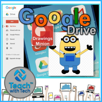 Google Drawings using Shapes to make a Movie Character