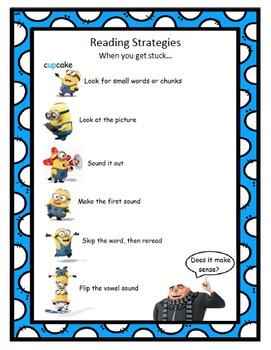 Minion Reading Strategies