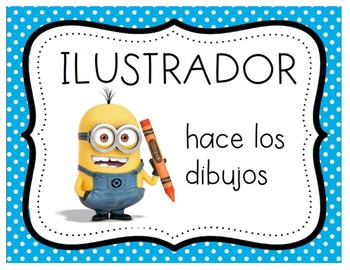 Minion Story Elements - Spanish Version