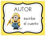 Minion Story Elements - Spanish Version