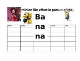 Minion Student Calendar