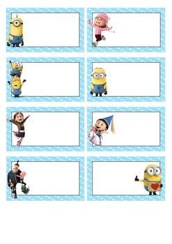 Minion Theme Classroom Decor