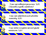 Minion Theme I Can Statements for 1st, 2nd, and 4th Grade