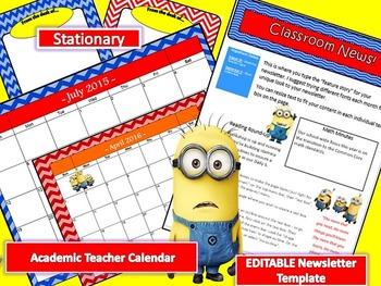 Minion Themed Classroom Decor Kit