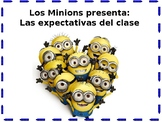 Minion Themed Classroom Expectation Posters, Spanish Edition
