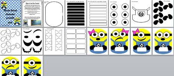 Minion Themed Classroom Printables