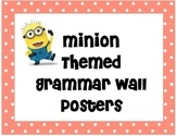 Minion Themed Grammar Wall
