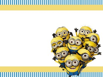 Minion Themed PowerPoint Slides