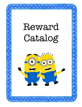 Minion Themed Reward Catalog