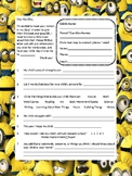 Minion Themed Survey for your students' parents!