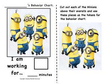 The Minions Behavior Chart!