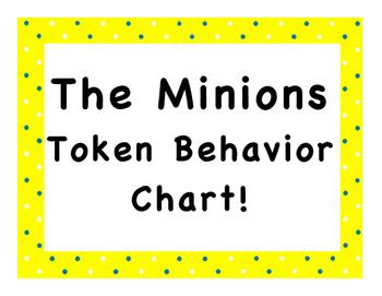 The Minions Token Behavior Chart!