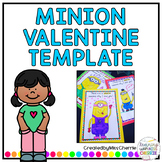 Minion Valentine's Day Template FREEBIE