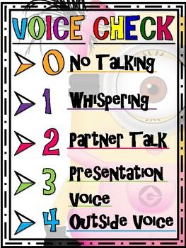 Minion Voice Chart