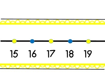 Minion Wall Number Line 0-120
