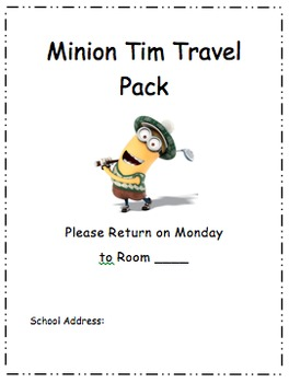 Minion Weekend Travel Pack