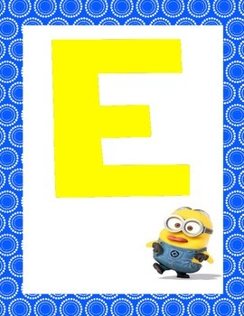 Minion Welcome Banner