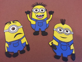 Minion Work Display-5 extra minions
