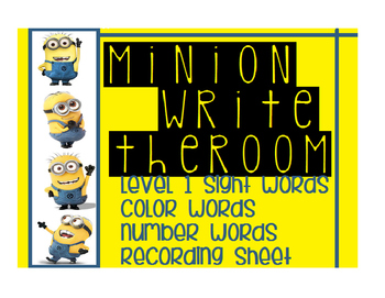 Minion Write the Room