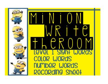 Minion Write the Room