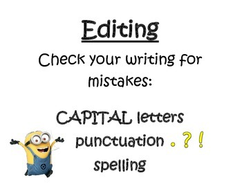 Minion Writing Process