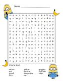 Minion word search