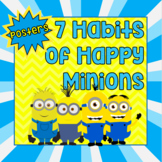 Minions 7 Habits of Happy Kids Posters